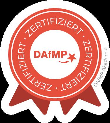 Zertifiziert von der DAfMP
